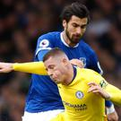 Ross Barkley (left) (Martin Rickett/PA)