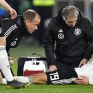 Leroy Sane escaped serious injury (Martin Meissner/AP)