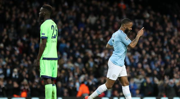 Raheem Sterling and Manchester City will be looking to boost their title hopes against Cardiff (Martin Rickett/PA)