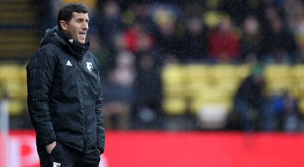 Watford manager Javi Gracia wants his players focused on the job in hand (Steven Paston/PA)