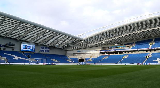 Brighton have announced the death of Kit Napier (Gareth Fuller/PA)