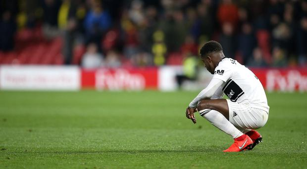 The future of players like Ryan Sessegnon will be key for ambitions next season (Nigel French/PA)