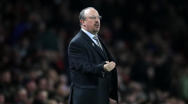Newcastle manager Rafael Benitez is awaiting an answer after contract talks (Adam Davy/PA)