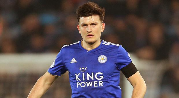 Leicester's Harry Maguire has been pleased with Brendan Rodgers' impact. (PA)