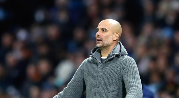 Pep Guardiola believes the role of the fans is crucial as Manchester City face Tottenham (Martin Rickett/PA)