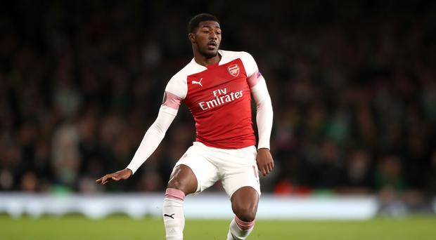 Ainsley Maitland-Niles has become a regular on the right-hand side of Arsenal's defence (Nick Potts/PA)