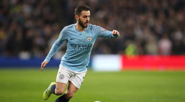 Bernardo Silva is preparing for the pressure of a Manchester derby (Nick Potts/PA)