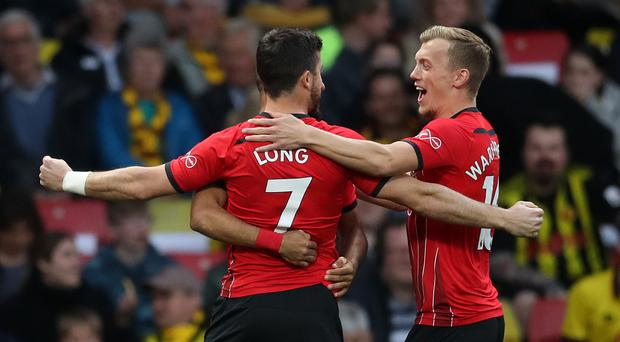 Southampton's Shane Long scored the fastest goal in Premier League history against Watford (Adam Davy/PA)