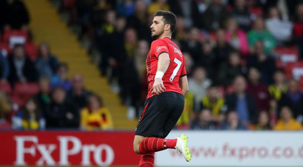 Shane Long grabbed a record-breaking goal at Watford (Adam Davy/PA)