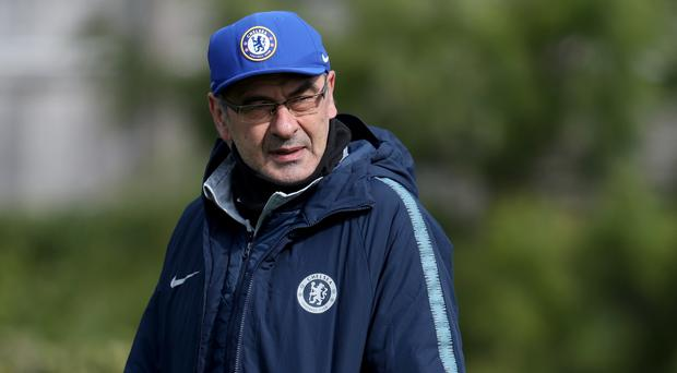 Maurizio Sarri has been charged by the Football Association (Bradley Collyer/PA)