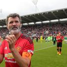 Roy Keane did not hold back in his criticism of Manchester United players (Niall Carson/PA)