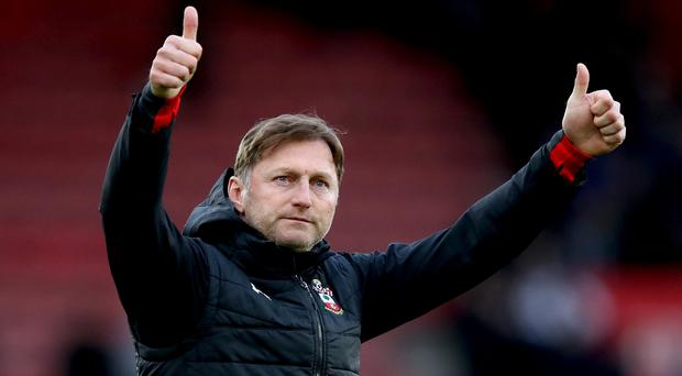 Southampton manager Ralph Hasenhuttl has taken the club to the brink of Premier League safety (Andrew Matthews/PA)