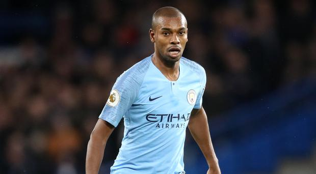 Fernandinho felt Manchester City showed how much they wanted to be champions in the Manchester derby (Adam Davy/PA)