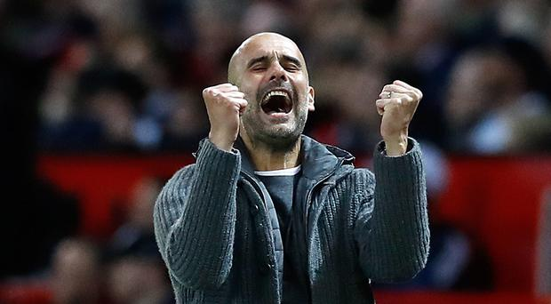 Manchester City manager Pep Guardiola has rallied his side since their Champions League exit (Martin Rickett/PA)