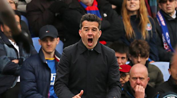 Everton manager Marco Silva believed his side deserved to win the game (Isabel Infantes/PA)