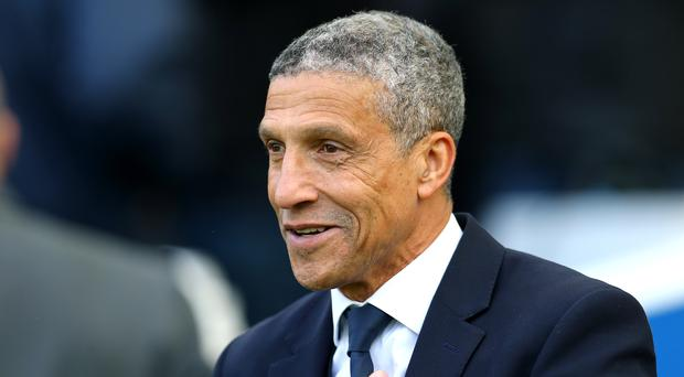 Brighton manager Chris Hughton was pleased to have claimed a point against Newcastle (Gareth Fuller/PA)