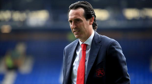 Unai Emery (pictured) faced former Celtic manager Brendan Rodgers when he was Paris St Germain boss (Peter Byrne/PA)
