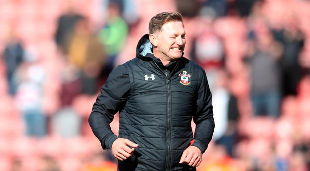 Staying up: Ralph Hasenhuttl has guided Saints to safety
