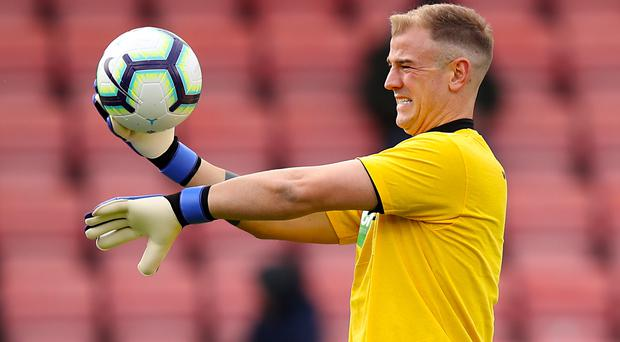 Burnley goalkeeper Joe Hart could be heading elsewhere this summer (Andrew Matthews/PA)