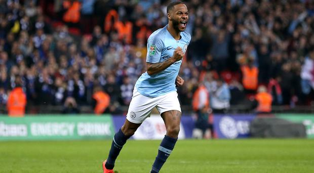 Raheem Sterling has enjoyed a stand-out campaign for both club and country (Nigel French/PA)