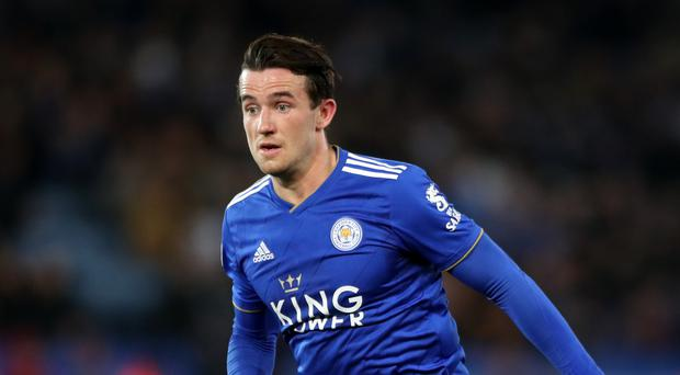 Leicester City's Ben Chilwell doesn't look bound for Manchester City (Nick Potts/PA)