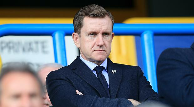 Dean Hoyle became chairman of Huddersfield in 2009 (Mike Egerton/PA)