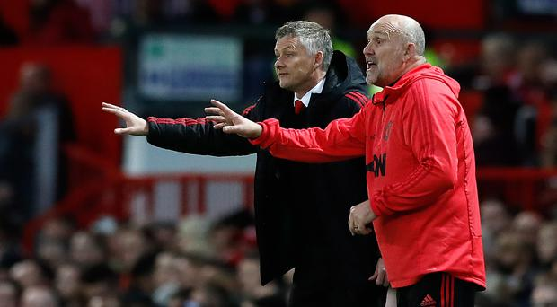 Manchester United assistant manager Mike Phelan (right) still has a role at Central Coast Mariners (Martin Rickett/PA)