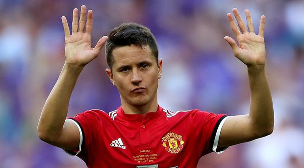 Manchester United's Ander Herrera is leaving (Nick Potts/PA)