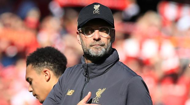 Liverpool manager Jurgen Klopp is confident his side will challenge Manchester City for the title again next season. (Peter Byrne/PA)