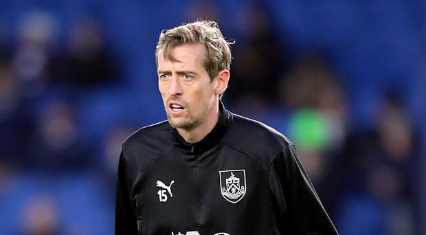 Peter Crouch could hang up his boots (Adam Davy/PA)