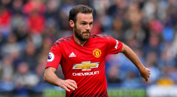 Juan Mata is out of contract at Manchester United this summer (Anthony Devlin/PA)