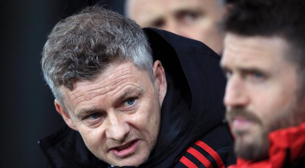 Michael Carrick will continue to assist Ole Gunnar Solksjaer (Owen Humphreys/PA)
