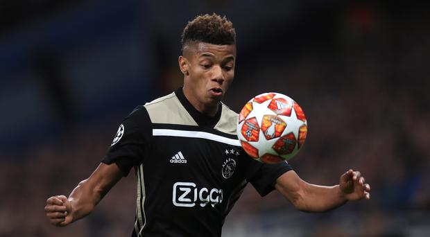 Chelsea could make a move for Ajax's David Neres (Mike Egerton/PA)