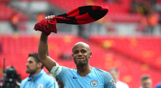 Vincent Kompany is heading back to Belgium to be player-manager of Anderlecht (Nick Potts/PA).