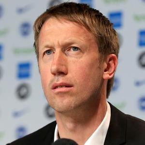 Graham Potter is Brighton's new boss (Gareth Fuller/PA)