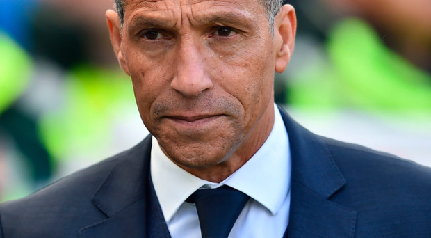 Job loss: Chris Hughton