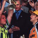 It is 20 years since Manchester City famously beat Gillingham in the Second Division play-off final (Tony Harris/PA)