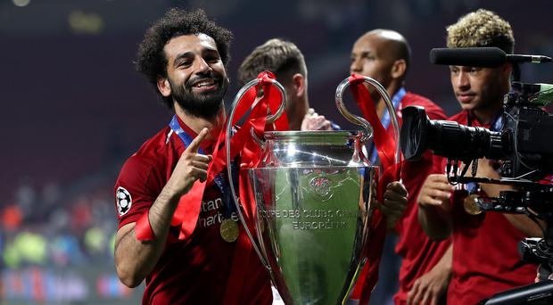 Mohamed Salah gave himself extra motivation before their Champions League final win over Tottenham (Martin Rickett/PA)