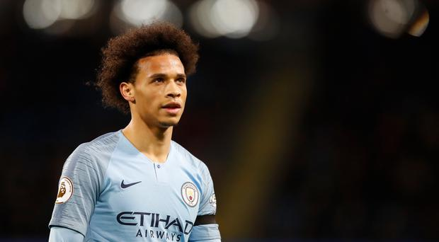 Bayern Munich have made no secret of their interest in Manchester City's Leroy Sane (Martin Rickett/PA).