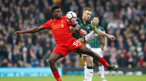 Liverpool winger Sheyi Ojo is expected to join Rangers on loan.