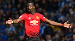 Paul Pogba could ready to end his second spell at Old Trafford (Anthony Devlin/PA)