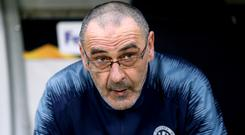 Maurizio Sarri is returning to Italy (Steven Paston/PA)