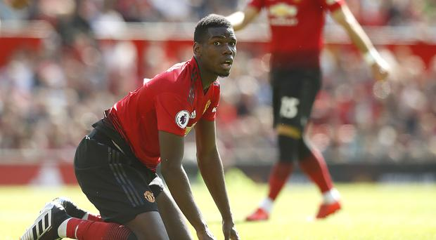Paul Pogba's time at Manchester United has seen plenty of ups and downs (Martin Rickett/PA)