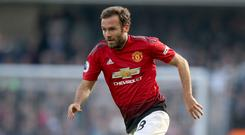 Juan Mata joined United from Chelsea in 2014 (Adam Davy/PA)