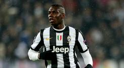 Paul Pogba spent four years with Juventus (Nick Potts/PA)