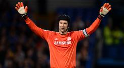 Petr Cech is back with Chelsea (Andrew Matthews/PA)