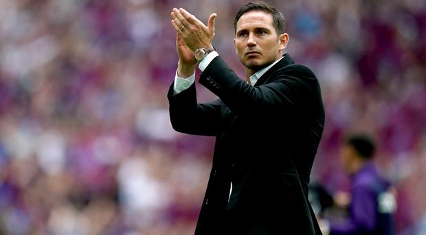 Frank Lampard guided Derby to the play-off final (John Walton/PA)