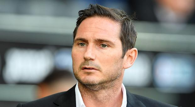 Frank Lampard has been given permission to talk to Chelsea (Simon Galloway/PA)