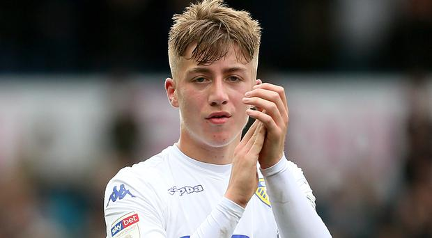 Jack Clarke was Leeds' young player of the season for 2018-19 (Richard Sellers/PA)