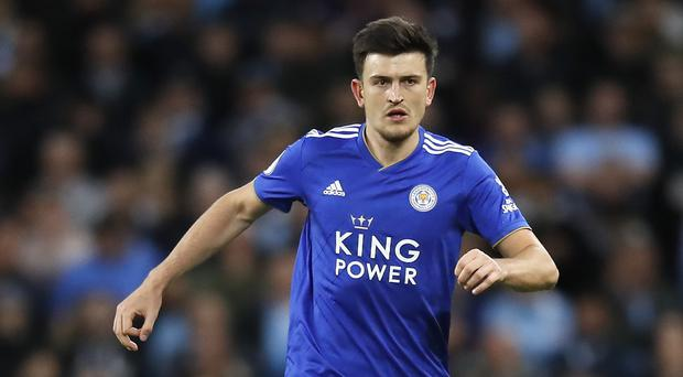 Leicester City's Harry Maguire is the subject of transfer rumours (Martin Rickett/PA)